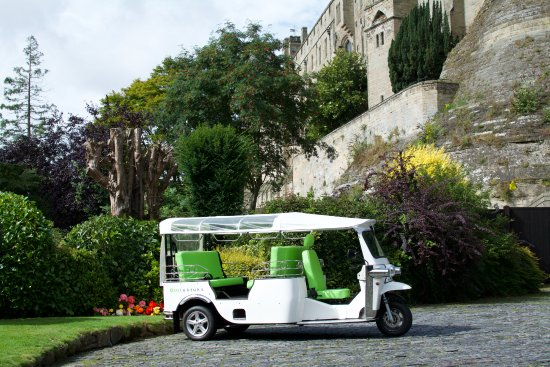ecotuktuks at Mill Gardens Warwick