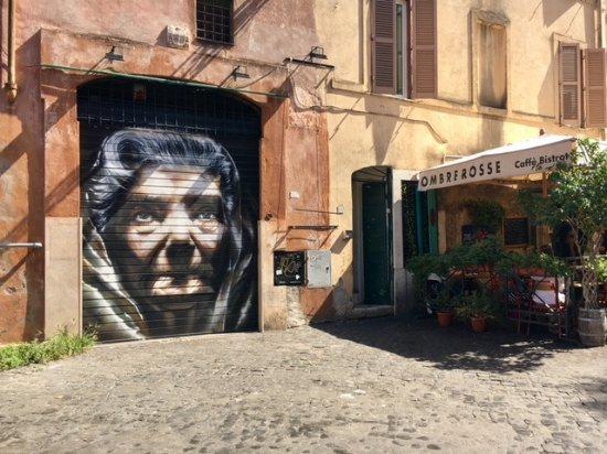 Trastevere: street art