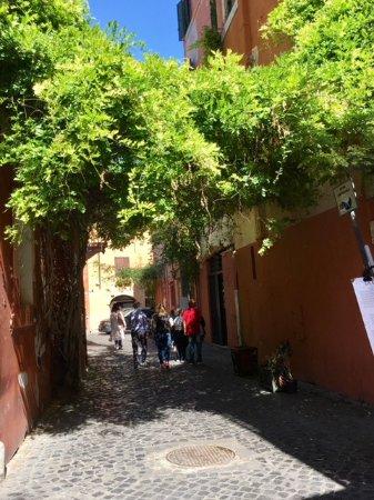 Trastevere: au détour d'une ruelle
