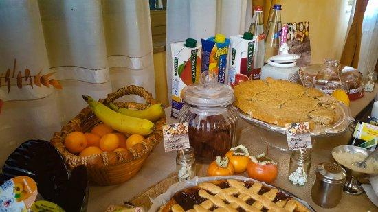 Gabiano, Italia: Colazione e buffet