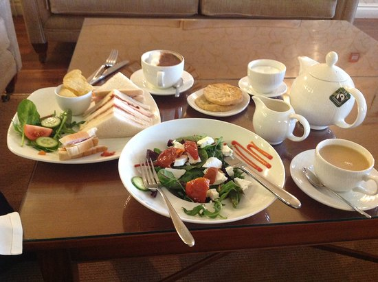Wych Cross, UK: Light lunch in the spa