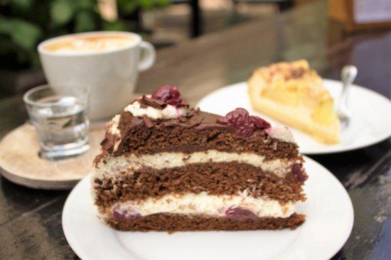 Seitenblick Essen Kaffee Kuchen Bild Von Seitenblick Essen