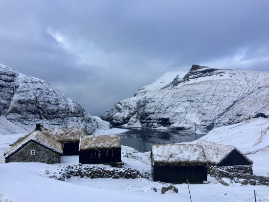 Streymoy, جزر فارو: Village of Saksun