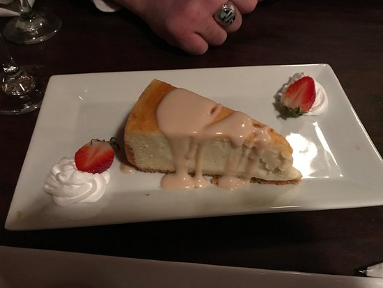 Ellwood City, Пенсильвания: Creme Brulee Cheesecake