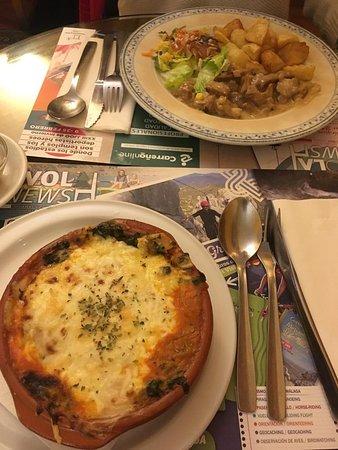 Canadu Vegetariano : Lasagnes végétariennes