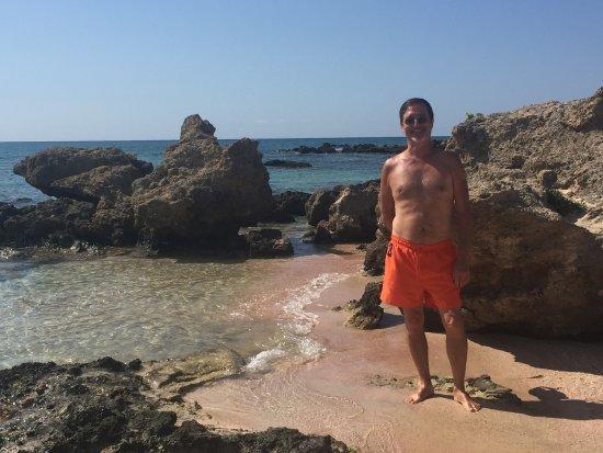 Elafonissi, Yunani: Allontanandosi dai parcehggi si trovano anche angoli tranquilli