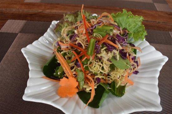 Madam Moch Khmer Restaurant: Salad