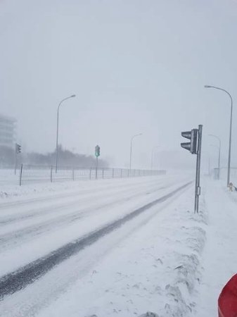 Hotel Island: extreme weather, but what do you expect when you go north in winter