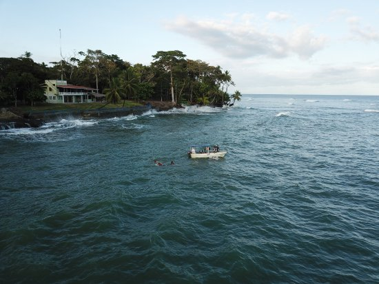 Punta Burica, Panama: BUrica Surf fishing panga