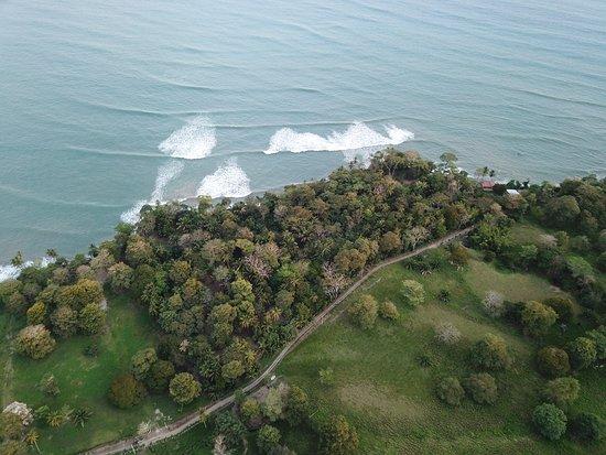 Punta Burica, Panama: overview of Burica Surf land
