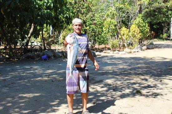 Punta Burica, Panama: Fresh fish