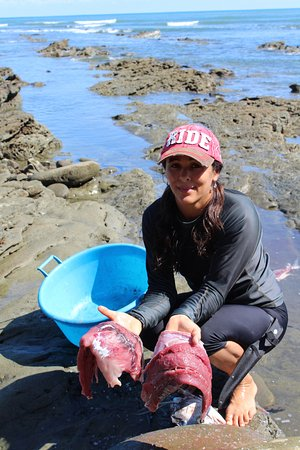 Punta Burica, Panama: Fresh fish filet