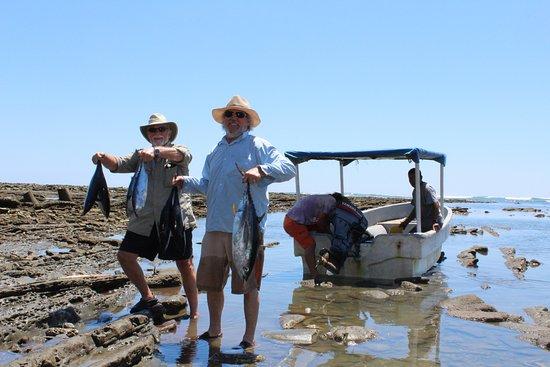 Punta Burica, Panama: successful fishing