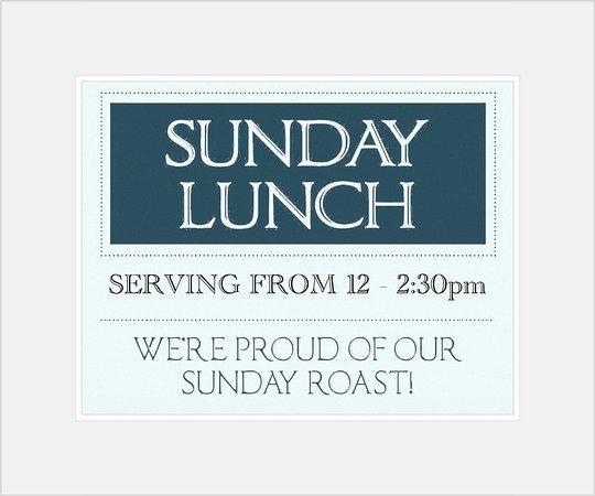 Llwyngwril, UK: Sunday lunches every Sunday