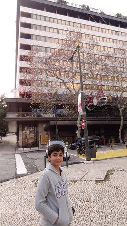 Altis Grand Hotel: Fachada do hotel