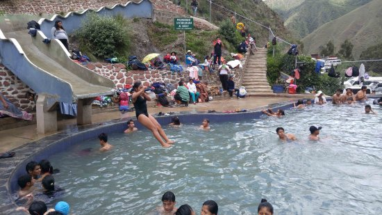 Cochabamba Department, Bolivia: There are 2 pools this one being larger, deeper, and much colder.
