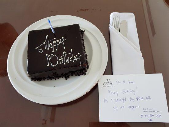 JA Oasis Beach Tower : Surprise Birthday Cake