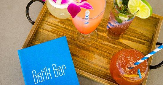 Paynes Bay, Barbados: Batik Bar Cocktails