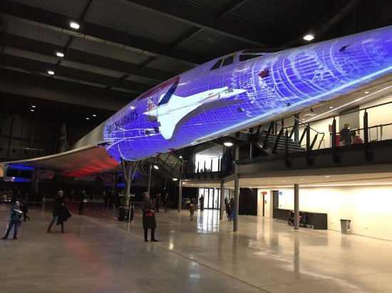 Patchway, UK: I am stood underneath the aircraft amazed by her height and length