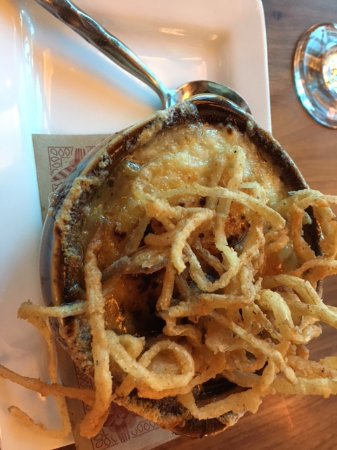 Ledyard, CT: French onion soup