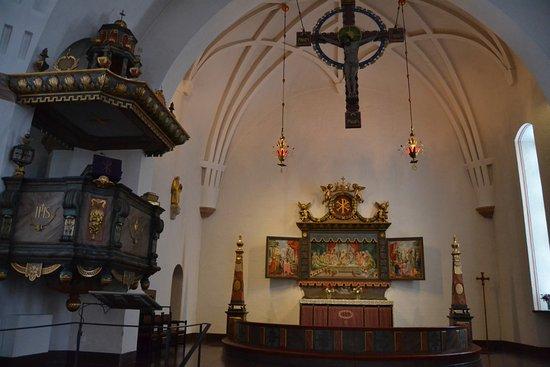 Skelleftea, Sweden: St. Olovs kyrka - interior
