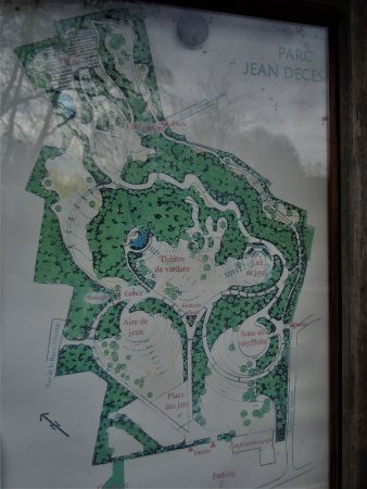 Parc Decesari: Plan du parc