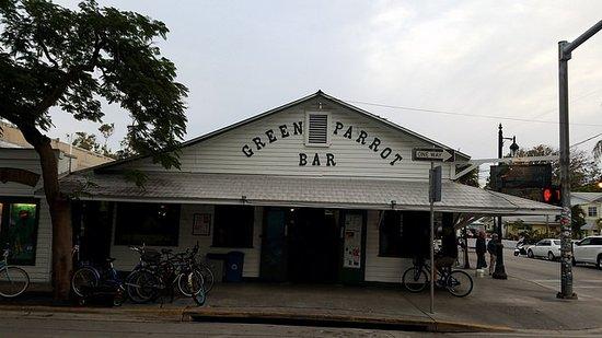 Green Parrot Bar : A KeyWest landmark!