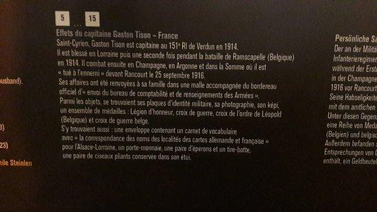 Fleury-Devant-Douaumont, Francia: Un officier du 151eme regiment d infanterie regiment de Verdun mais aussi regiment de Metz.  Reg