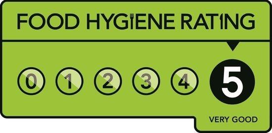Cropredy, UK: Five star hygiene rating