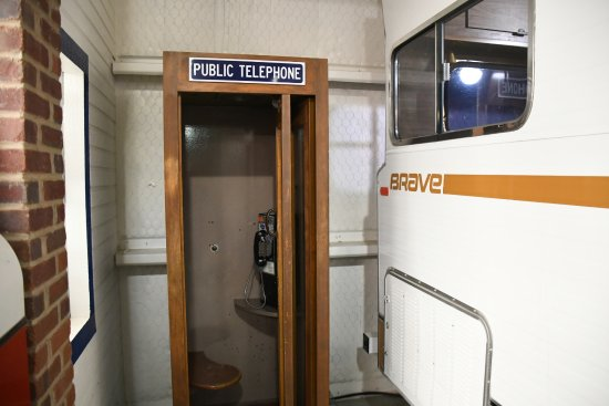 Jack Sisemore Traveland RV Museum: Wondered how many remembered using this when on the road....