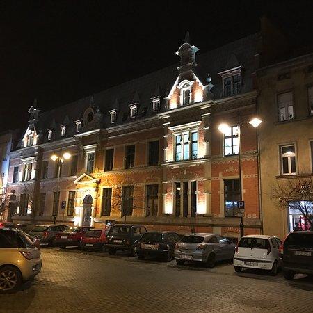 Rynek, Gliwice : Rynek nocą