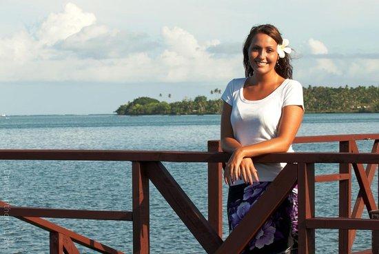 Salelologa, Samoa: Deck