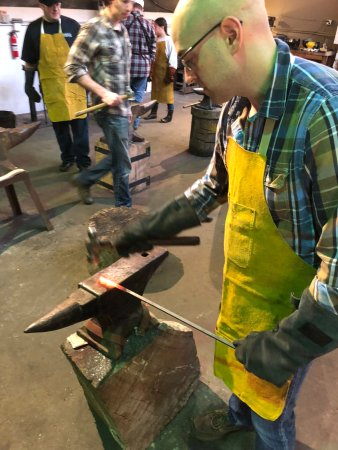 Hammer it out  - Picture of Lawless Forge, Seattle - TripAdvisor