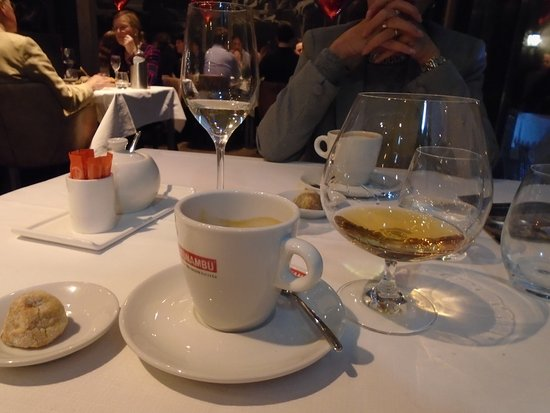 Restaurant Woods: Espresso Cognac
