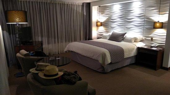 Presidente Hotel: Ampia camera