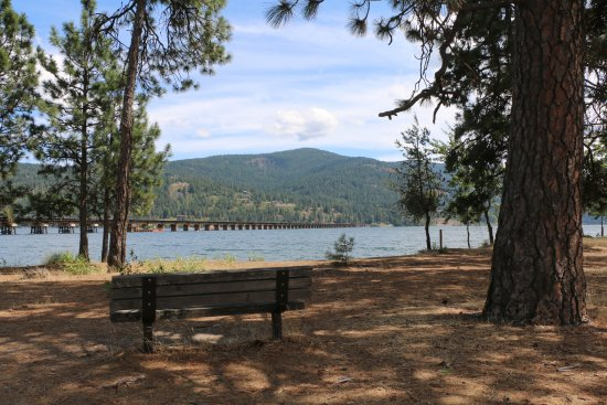 Sandpoint, ID: View from the Trail