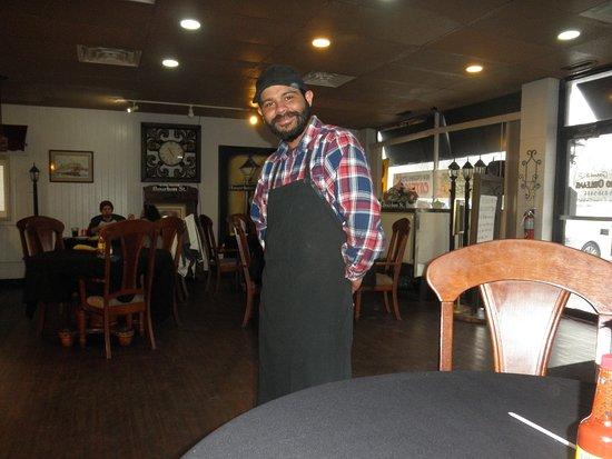 Warren, MI: charles, our cool waiter.....