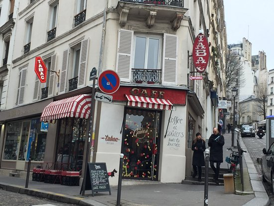 Le cafe tabac paris th arr buttes montmartre restaurant