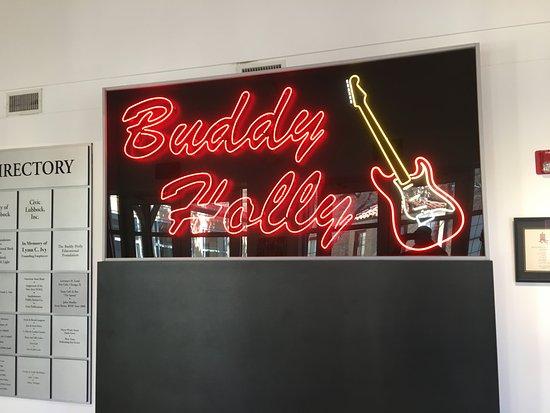The Buddy Holly Center: entrance