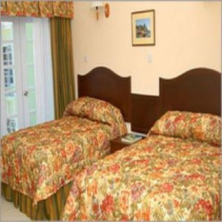 Palm Haven Hotel: Guest room