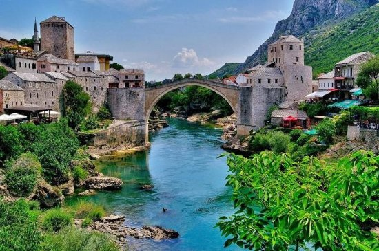 Teen girls Mostar