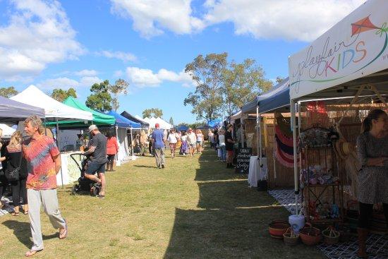 Coolum Beach, Αυστραλία: Market Stalls