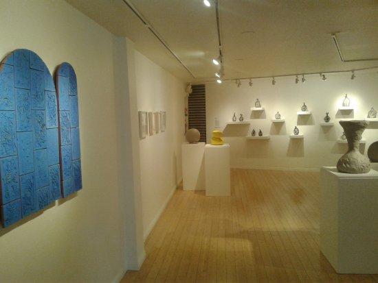 Craft and Folk Art Museum: ceramic exhibtion