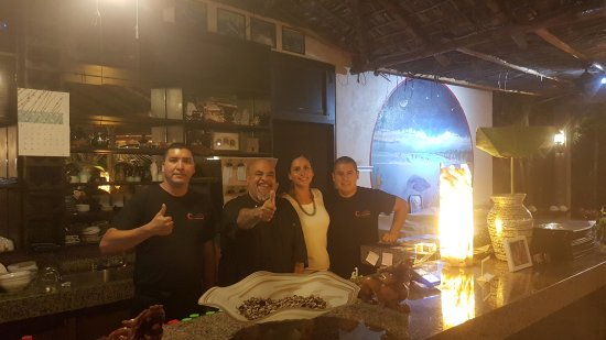 El Pescadero, Mexiko: Brianda, Carlito and amazing staff...