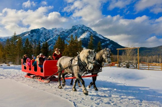 Banff Canadian Rockies Horse-Drawn...
