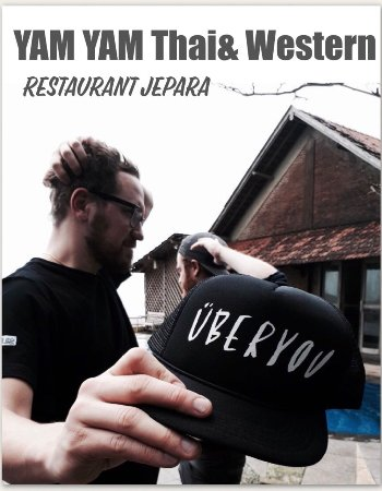 """ÜBERYOU"" the popular group band of Switzerland at YAM YAM Thai& Western Restaurant Jepara Indon"