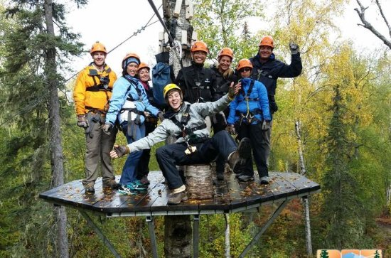 Talkeetna Zipline Adventure from...