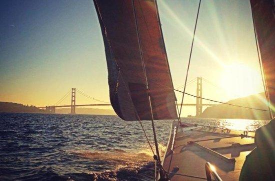 Aventura de navegación en la Copa de América por la Bahía de San...