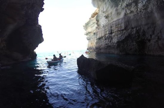 Mallorca Stand Up Paddle Board and Kayak Sea Caves Tour from Playa de
