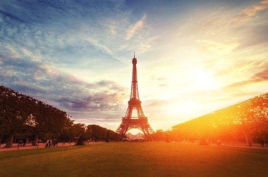 Guidad klättring av Eiffeltornet med ...